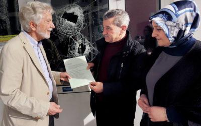 Das Abrahamische Forum zeigt Solidarität