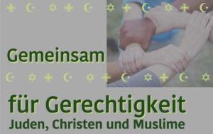 Gemeinsam für Gerechtigkeit - Juden, Christen und Muslime @ Nahe Bürgerhalle