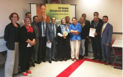 Auszeichnung des Türkisch-Islamischen Zentrums in Darmstadt durch die UN-Dekade Biologische Vielfalt