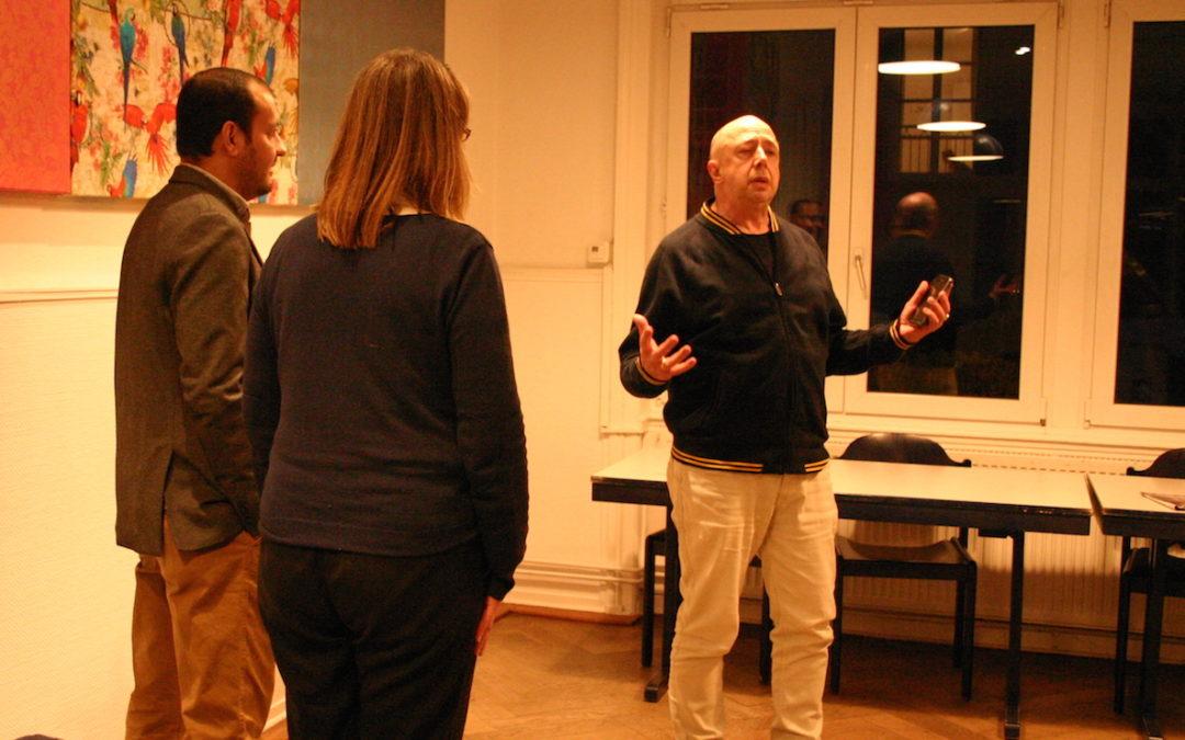 Abrahamisches Team war zu Gast im Cafe Deutschland Frankfurt