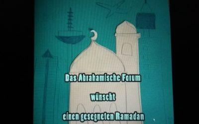 Ramadan Grüße an unsere Muslimischen Freunde