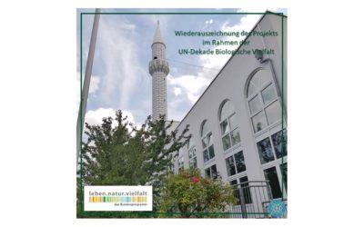 Wiederauszeichnung der Emir Sultan Mosche im Rahmen der UN Dekade Biologische Vielfalt