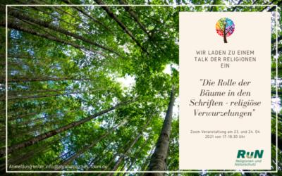Interreligiöser Talk zum Fest der Bäume
