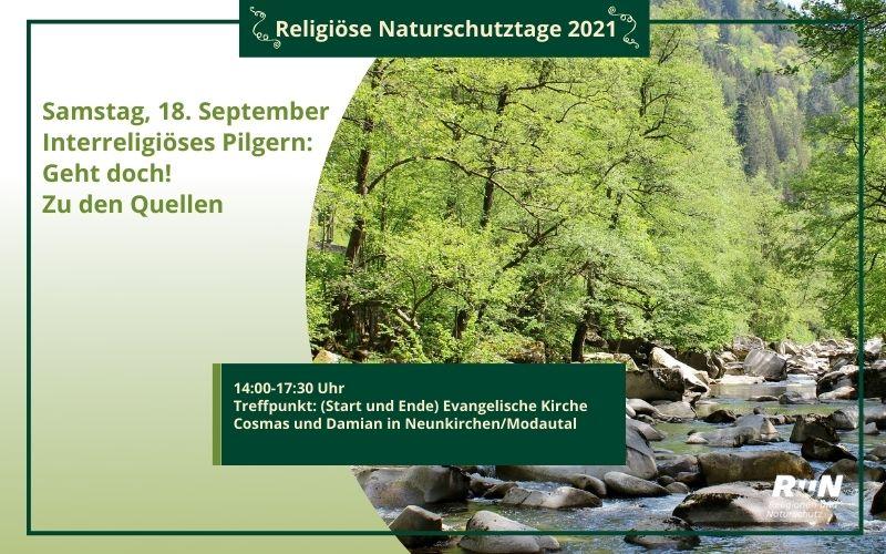 Darmstadt: Interreligiöses Pilgern:  Geht doch! Zu den Quellen