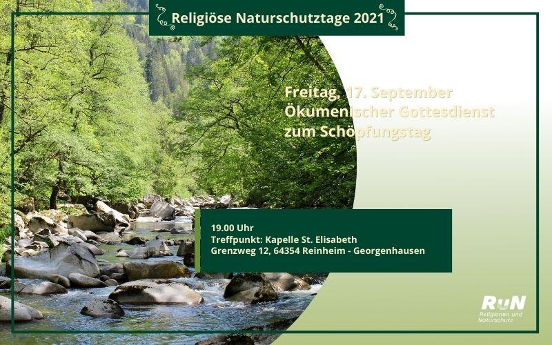 Reinheim: Ökumenischer Gottesdienst zum Schöpfungstag
