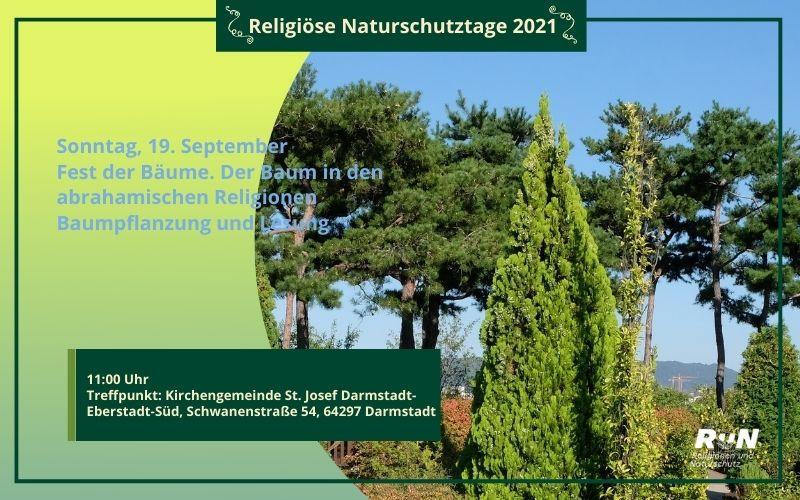 Darmstadt: Fest der Bäume. Der Baum in den abrahamischen Religionen
