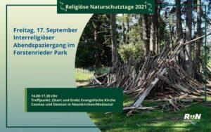 München: Interreligiöser Abendspaziergang im Forstenrieder Park @ Forstenrieder Park