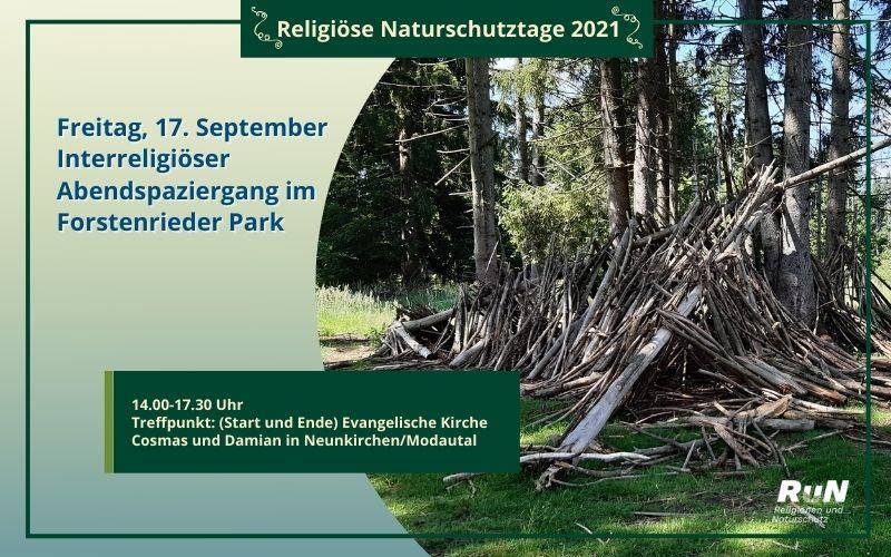 München: Interreligiöser Abendspaziergang im Forstenrieder Park