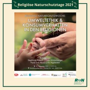 Köln: Umweltethik und Konsumverhalten in den Religionen @ Ditib Zentralmoschee Köln