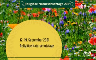 Pressemitteilung Religiöse Naturschutztage 2021