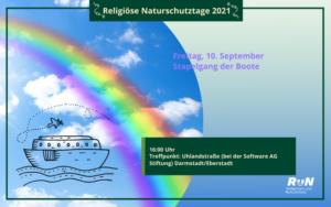 Darmstadt: Stapelgang der Boote - Mit Noah auf Reise