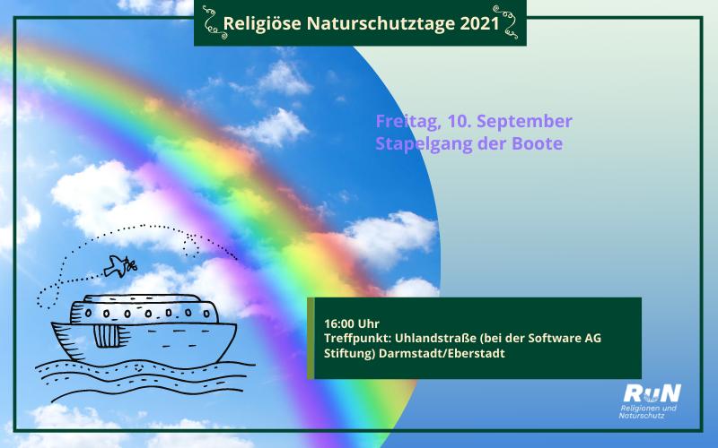 Darmstadt: Stapelgang der Boote – Mit Noah auf Reise